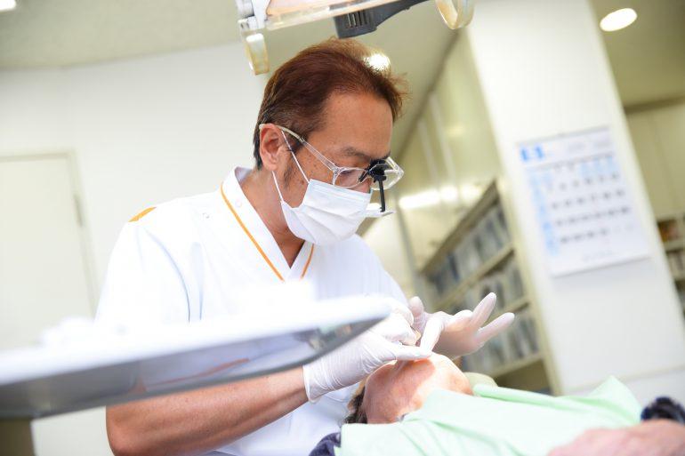 目立たない入れ歯 武蔵新城の藤木歯科クリニック