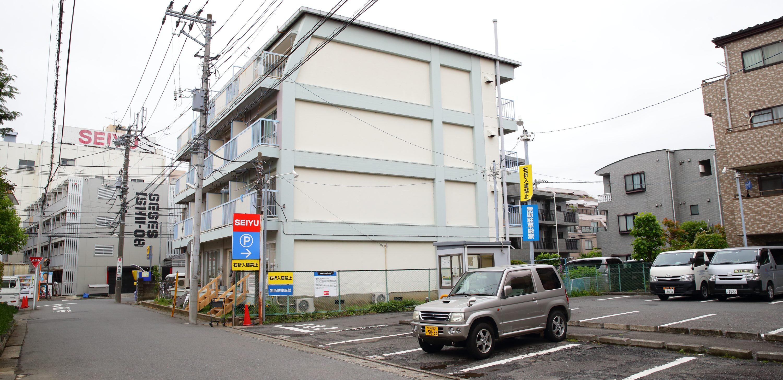 駐車場|武蔵新城の藤木歯科クリニック